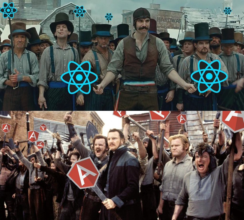 Angular 2 versus React